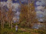 alfred sisley the small meadow in spring art