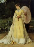 alfred stevens famous paintings - in the country by alfred stevens
