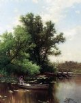 alfred thompson bricher drifting painting 37113