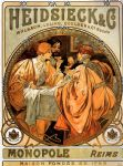 alphonse maria mucha heidsieck and co paintings