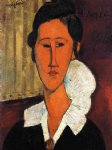 amedeo modigliani art - anna hanka zborowska by amedeo modigliani