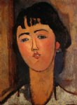amedeo modigliani portrait of a woman ii painting-36932