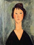 amedeo modigliani portrait of a woman iii painting-36933