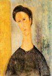 amedeo modigliani portrait of a woman iv painting-36935