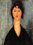 amedeo modigliani portrait of a young woman ii painting-36942