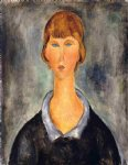 amedeo modigliani portrait of a young woman iii painting-36943