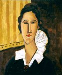 portrait of anna zborovska ii by amedeo modigliani acrylic paintings