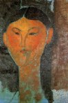 amedeo modigliani portrait of beatrice hastings iii painting-36950