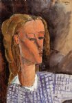 amedeo modigliani portrait of beatrice hastings iv painting-36951