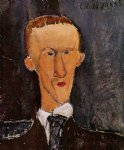 amedeo modigliani portrait of blaise cendrars painting-36954