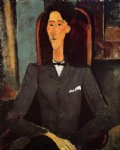 amedeo modigliani portrait of jean cocteau painting-36965