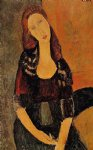amedeo modigliani portrait of jeanne hebuterne iv painting