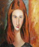 amedeo modigliani portrait of jeanne hebuterne v painting 36973