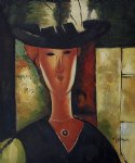 portrait of madam pompadour 1915 by amedeo modigliani acrylic paintings