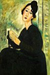 portrait of madame hayden 1918 by amedeo modigliani acrylic paintings