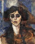 amedeo modigliani portrait of maude abrantes painting-36987
