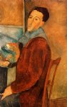 amedeo modigliani self portrait painting