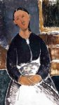amedeo modigliani serving woman painting