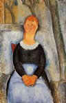 amedeo modigliani the beautiful grocer painting 37001