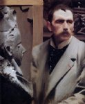 self portrait by anders zorn painting