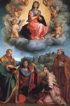 andrea del sarto acrylic paintings - virgin with four saints by andrea del sarto
