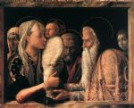 presentation at the temple by andrea mantegna painting