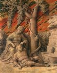 samson and delilah by andrea mantegna painting