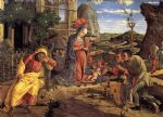 the adoration of the shepherds by andrea mantegna painting