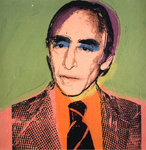 leo castelli 1975 by andy warhol painting