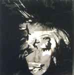 self portrait with camoufla by andy warhol painting