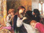 a music party by arthur hughes watercolor paintings