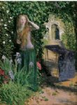 arthur hughes art - fair rosamond by arthur hughes