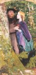 the long engagement by arthur hughes art