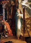 the property room by arthur hughes watercolor paintings