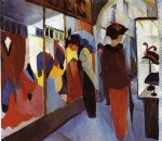 august macke famous paintings - fashion shop by august macke