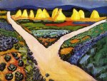 august macke vegetable fields art