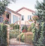 a gateway in carmel by barbara felisky acrylic paintings