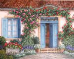 barbara felisky rose around the door prints