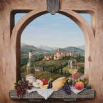 still life with the castello by barbara felisky acrylic paintings
