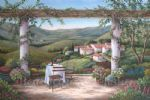vineyard afternoon by barbara felisky acrylic paintings