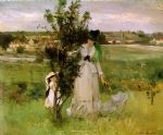 berthe morisot art - hide and seek by berthe morisot