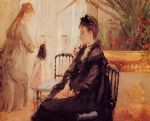 interior morisot by berthe morisot famous paintings