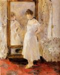 the cheval glass by berthe morisot painting