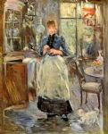 the dining room by berthe morisot painting