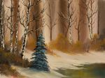 bob ross a copper winter painting 85964