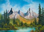bob ross autumns magnificence painting