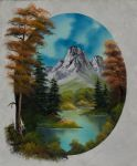 bob ross early autumn painting
