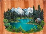 bob ross fishermans cabin 86020 posters