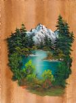 fishermans paradise by bob ross painting