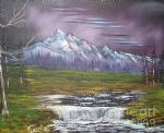 impressions in oil by bob ross painting